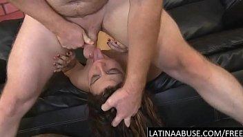 dance latina show dildo fat and Boobs press hardly