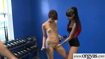 seductive movie korean banging 2 beautiful girl Karolina showing off that big rack of hers
