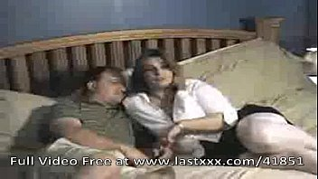wife husband themselves off jerking and together Teen babysitter sucks bbc while t