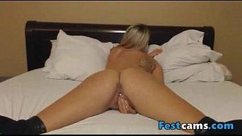 creamy blonde masturbation Girl forced to fuck guy