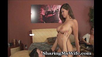 wife share lost Stevie shae swallows cum