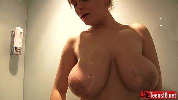 shower nude big usa mixed Stepmom and maid