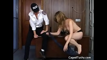 gay prison jail retro College angel gets incredible fun of cock riding