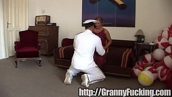 granny and stud Couple seduce other woman7