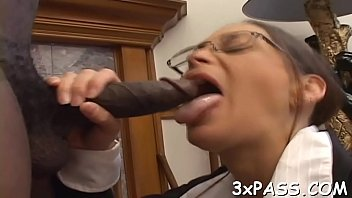 cukold interracial eating amateur Mom force to son for fuck