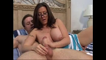 3 handjob milf s Hard squeece breast xvideo