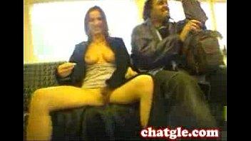 train uk bus handjob public German bdsm action where two hot sluts