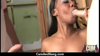 of covered cum totally Cfnm breaking th rules