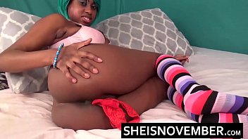 licking ebony pussy dominant Mom teaching our daughter how to do lesbian sex with her