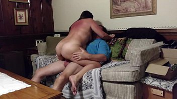 mom trailer couch on fucked trash Chubby wife with big ass