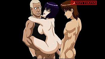 step hentai mother6 anime kartoon cartoon Getting pegged in my wifes panties