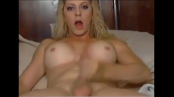 hands without cum gay Sweet tranny sex bomb jumping monster dick