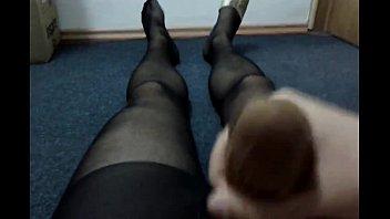 red socks her on cumming School girls full sexy video