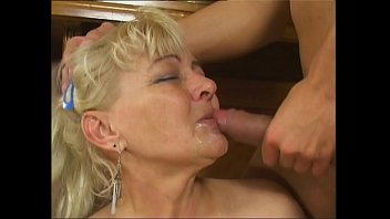 mit oma rede She warms him up so he can fuck the bbw hardcore stockings lingerie big as