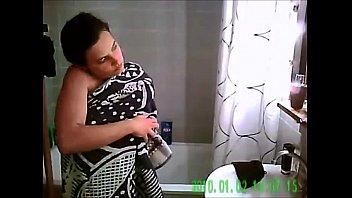 roommate shower spy Indian girl period time video