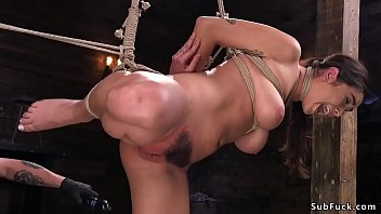 daphne rosen submission Forced double bondage
