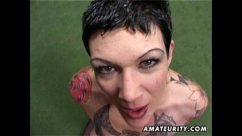 tattoo angela amateur Isteri tudung labuh solehah hisap kontol