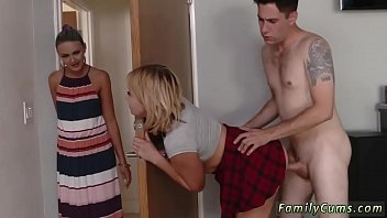 me jerks step while mom porn watching Hot mom seduced son
