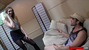 blackmail femdom joi Daddy with young guy