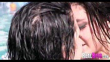 pool bff party Jilbab porn movie