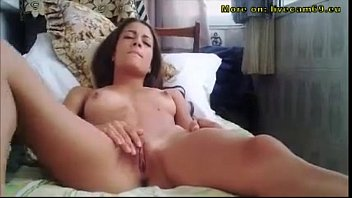 home babe at alone hot Angel porn movies10