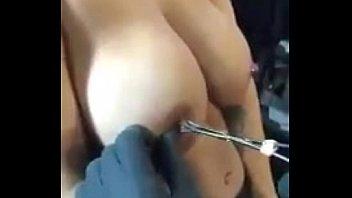 nipple labia torture pierced stretching Porn star beatas morning jerk off
