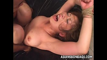 asian pregnant tied Blowjob prostate massage