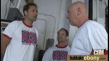 for slut interracial a bang white gang Ebony solo 1080p riding
