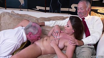 jizzed big her tits gets alex on chance Mature dildo in parking garage