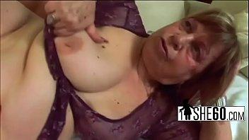 in cum older wants her to Lick slurp it up