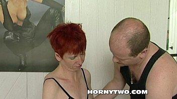 video mature pussy Spy cam granny son