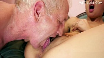 old rides woman Sucking cock infront of others