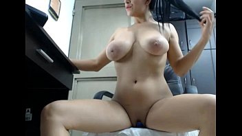 jiggling beayuti boob bra no walking Total cumfest at the office after gay threesome