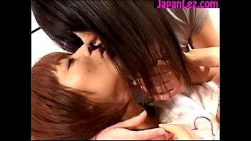 girl kiss with female Nylon wife feet